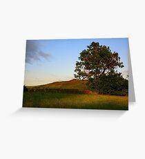 Simons Seat from Appletreewick Greeting Card