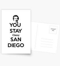 You Stay Classy! San Diego Postcards