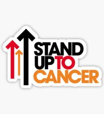World Cancer Day Stand Up to Cancer Sticker