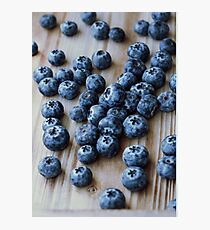 Scandinavian blueberries  Photographic Print