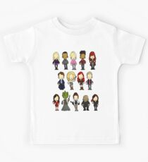 Doctors Companions and Friends V.2 Kids Clothes