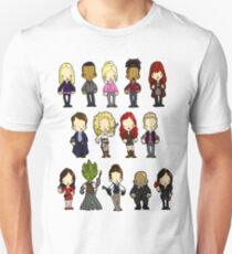 Doctors Companions and Friends V.2 T-Shirt