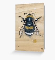 Bee #2 Greeting Card