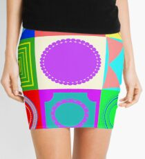 Fun shapes Mini Skirt