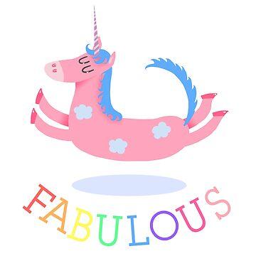 Fabulous Unicorn by mariegib