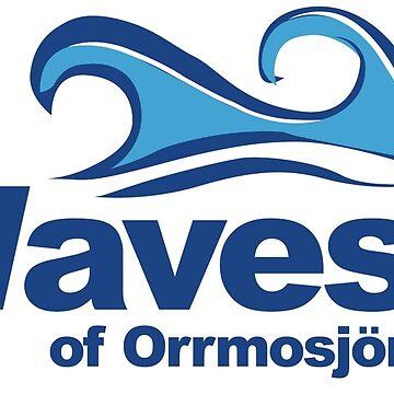 Orrmosjöns vågor by canesweden