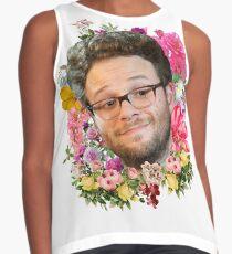 Seth Rogen Floral Sleeveless Top