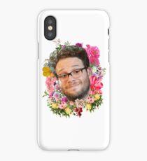 Seth Rogen Floral iPhone Case/Skin