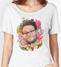 Seth Rogen Floral Women's Relaxed Fit T-Shirt