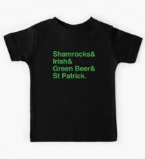 Shamrocks & Irish & Green Beer and ST Patrick Kids Clothes