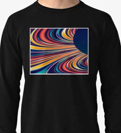 Color and Form Abstract - Solar Gravity and Magnetism 2 Lightweight Sweatshirt