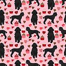 Poodle black valentines day gifts for dog lover poodle owners must haves special valentine by PetFriendly by PetFriendly