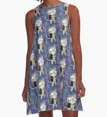Zombie Han Solo Cat A-Line Dress