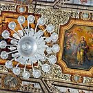 Ceiling with lamp by Arie Koene