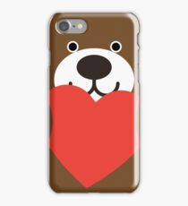 Teddy Bear Heart iPhone Case/Skin