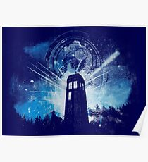 the lighthouse of gallifrey Poster