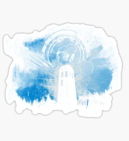 the lighthouse of gallifrey Sticker