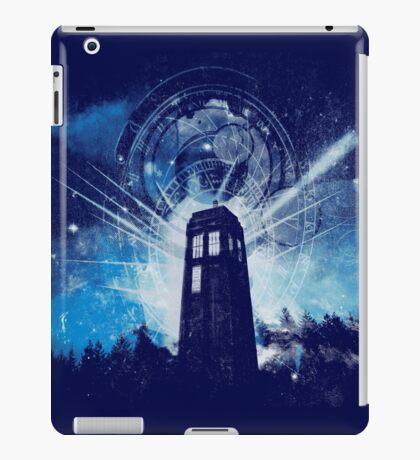 the lighthouse of gallifrey iPad Case/Skin