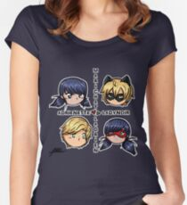 Love Square Women's Fitted Scoop T-Shirt