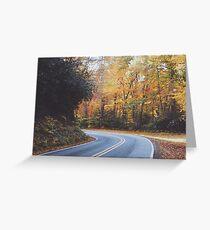 Blue Ridge Parkway Fall Greeting Card