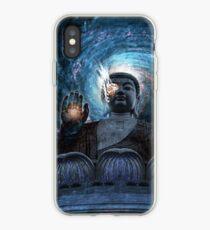 Cyborg Buddha iPhone Case