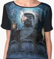 Cyborg Buddha Chiffon Top