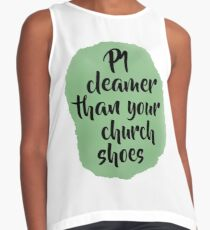"P1 cleaner than your church shoes - The Weeknd ""Starboy"" Contrast Tank"
