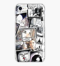 peyton's artwork collage iPhone Case/Skin