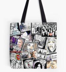 peyton's artwork collage Tote Bag
