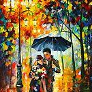 «NOCHE CALIENTE - Leonid Afremov» de Leonid Afremov
