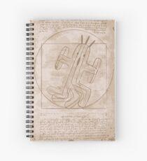 Vitruvio's Cactuar Spiral Notebook