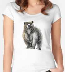 The Great Bear - A fierce protector Women's Fitted Scoop T-Shirt