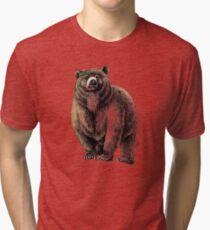The Great Bear - A fierce protector Tri-blend T-Shirt