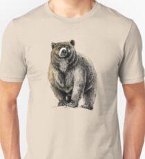 Der große Bär - Ein heftiger Beschützer Slim Fit T-Shirt