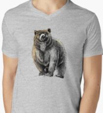 The Great Bear - A fierce protector Men's V-Neck T-Shirt