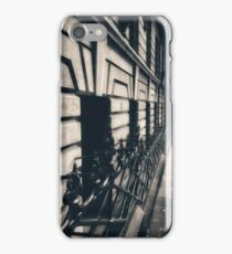 Melbourne streetscape iPhone Case/Skin