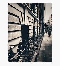 Melbourne streetscape Photographic Print