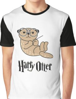 Funny Harry Otter Graphic T-Shirt