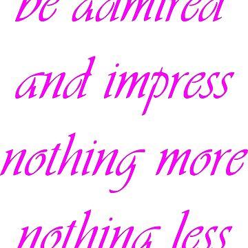"Nickname  ""Be admired"" by Grobie"