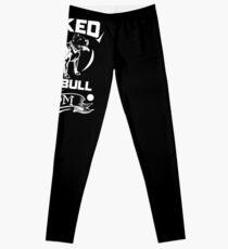 Inked Pit Bull Mom Leggings
