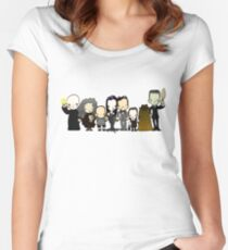 They're creepy and they're kooky Women's Fitted Scoop T-Shirt