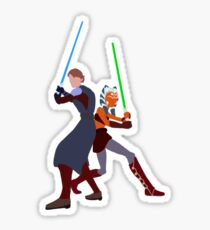 Star Wars: Anakin and Ahsoka - Master and Padawan Sticker