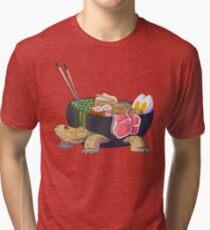 Ramen Tortoise  Tri-blend T-Shirt
