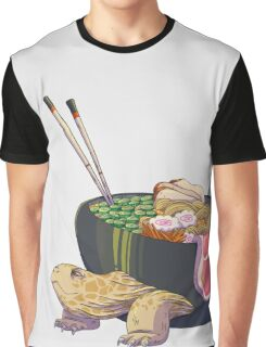 Ramen Tortoise  Graphic T-Shirt