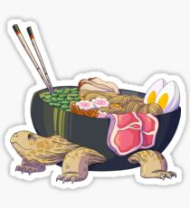 Ramen Tortoise  Sticker