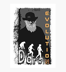 Darwin Evolution by Crazydodo Photographic Print