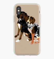 Marlowe and Gracie iPhone Case