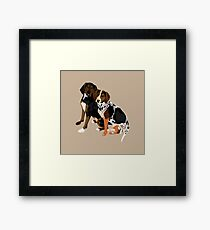 Marlowe and Gracie Framed Print