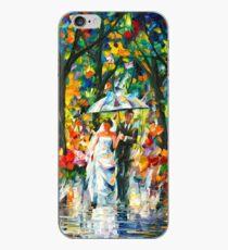 WEDDING UNDER THE RAIN - Leonid Afremov iPhone Case