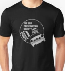 Classic Mini Cooper S - Italian Job - Reversed T-Shirt